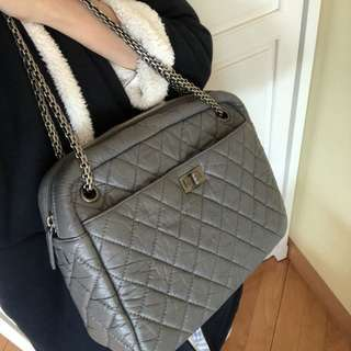 Chanel classic 2.55 medium camera bag