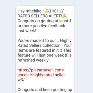 ✨ YAY! Highly Rated Seller!! ✨