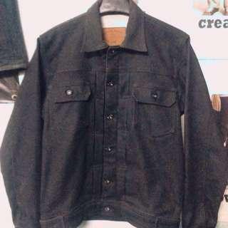 Trucker Jacket Jeans/Denim Black