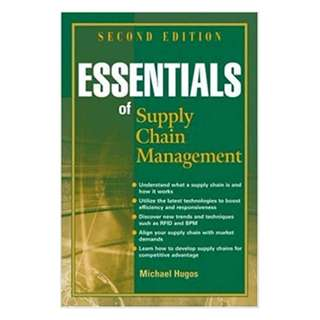 Essentials of Supply Chain Management 2nd Edition BY Michael H. Hugos