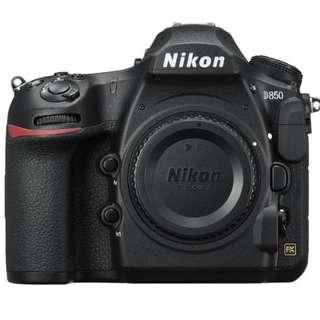 NIKON D850 FULL FRAME DSLR CAMERA BODY