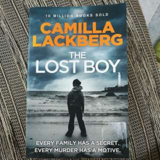 Novel by renowned author : The Lost Boy