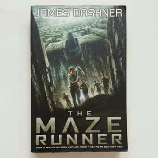 The Maze Runner by James Dashner (Adult/Young Adult Fiction)