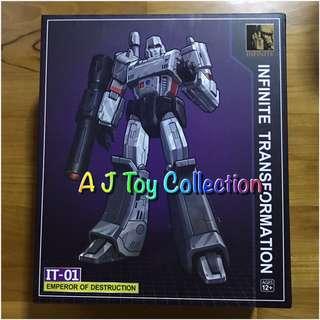[ In Stock ] Transformers IT Megatron KO MP36