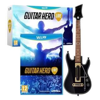 Guitar hero live- Wii U