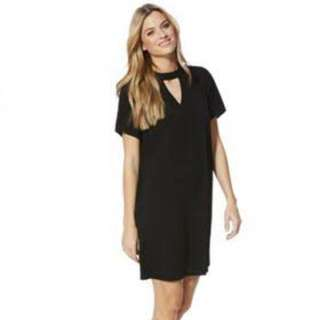 Et Cetera Choker Black Dress