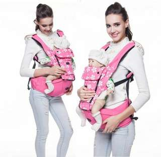 HIPSEAT FLOWER BABY CARRIER (PINK)