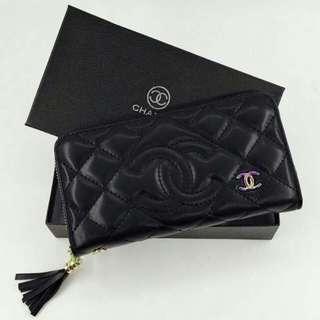 Chanel Wallet So Black