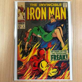 MARVEL COMICS The Invincible Iron Man #3-Happy Hogan becomes the Freak (Serious Buyers Only)