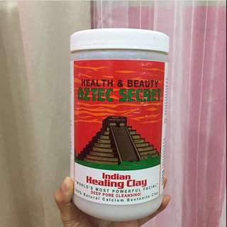 85% full Aztec indian healing clay. Exp:dec 2020