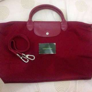 Preloved Authentic Long Champ Neo Size L