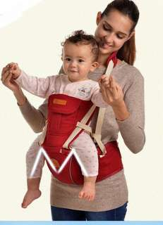 HIPSEAT BABY CARRIER (RED)