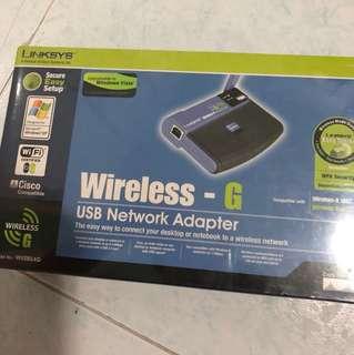 Linksys Wireless-G network adapter