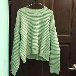 🚚 綠色毛衣
