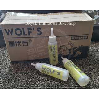 Wolf's Bike Bicycle Chain Lubricant Oil Lubricating Maintenance Oil