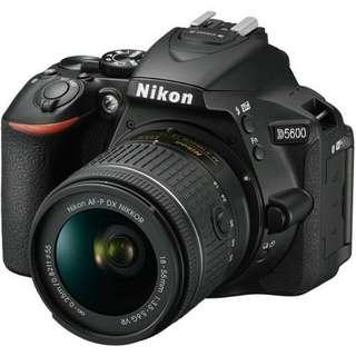 Nikon D5600 DSLR Camera 18-55mm Kredit proses mudah