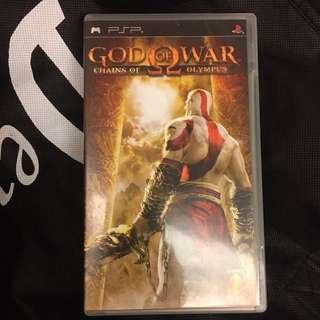 戰神-奧林帕斯之練 PSP 英文版