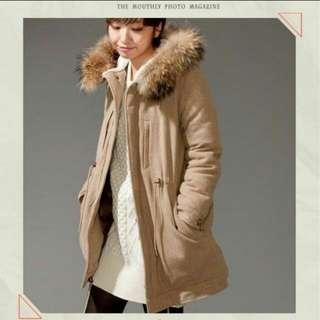 🚚 日本nano universex東京西川限量羊毛羽絨大衣