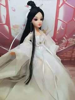 🚚 三生三世十里桃花白淺同款仙子娃娃