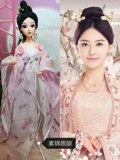 🚚 三生三世十里桃花錦繡同款仙子娃娃