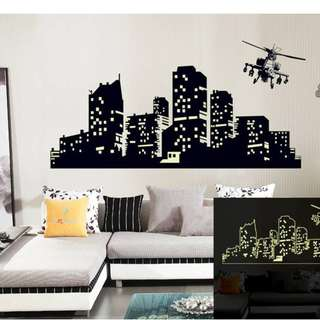 Glow in the Dark Wall Decal Sticker