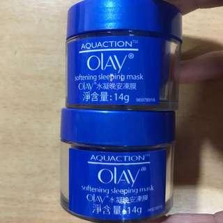 Olay 晚安凍膜 全新 未開封 兩個一起賣