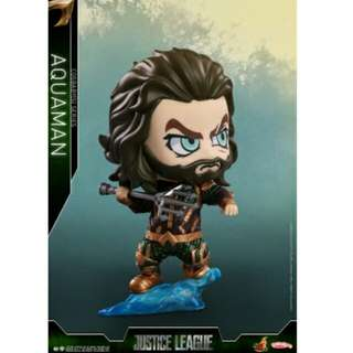 Justice League Aquaman Hot Toys Cosbaby Figure MISB
