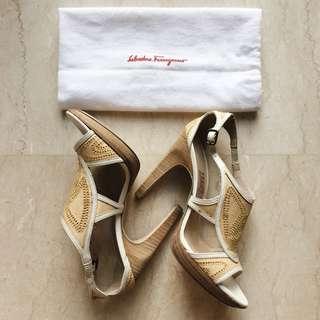 Salvatore Ferragamo Heels (Authentic)