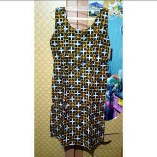 Dress Batik Santai