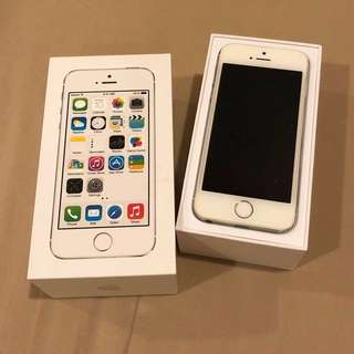 iPhone 5s - Silver 64gb