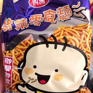 紫菜零食麵 (free) 有五包
