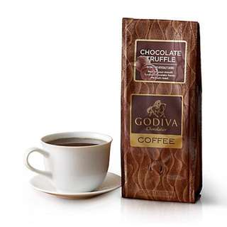 🇨🇦GODIVA Chocolate Truffle Coffee, Ground, 10 oz.