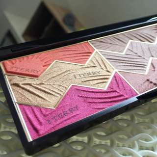 BNIB By Terry Limited Edition Sun Designer Palette in Tropical Sunset Bronzer Blush Highlighter