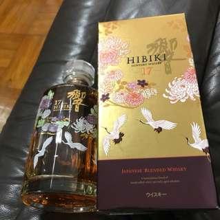 日本  響17年花鳥風月特別版威士忌