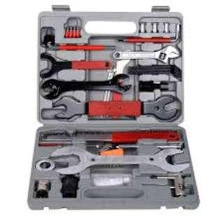 *44 parts* Universal Bicycle Tool Set FZ-04 Bike Tool Set MTB Tool Kit with PVC Box