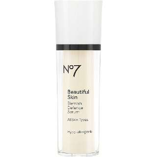 No 7 Beautiful Skin Blemish Defense Serum
