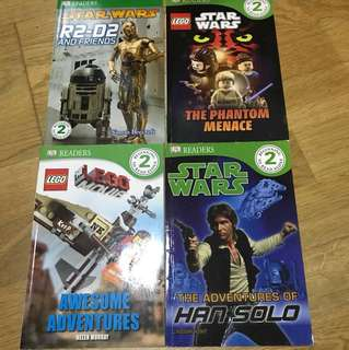 Star Wars Lego Movie books