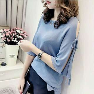 Atasan Julia Top SOFTBLUE
