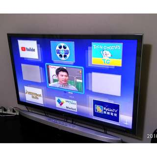 Panasonic 47 inch FHD 3D Smart led IPS panel tv perfect condition