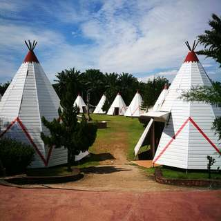 Port Dickson Eagle Ranch Resort Tepee #hotel