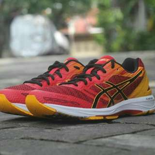 Sepatu Run ASICS Gel DS Trainer 22 Prime Red Original Bnib