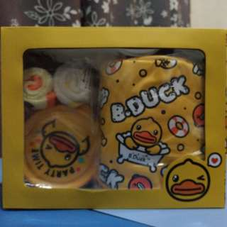 B Duck Gift Set 手巾仔 盒仔 紙巾筒