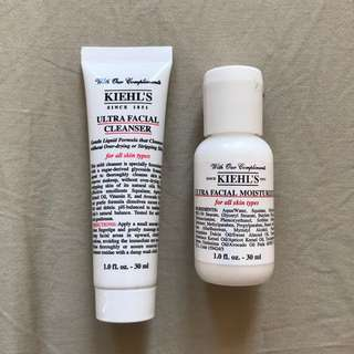 Kiehl's Ultra Facial Facial Wash & Moisturiser