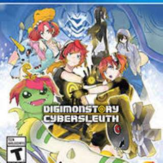 Digimon cyber sleuth- ps4 new