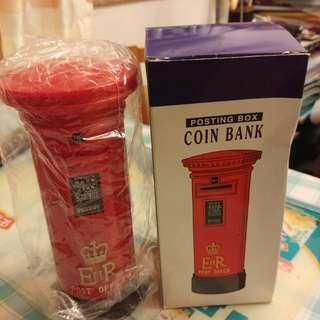 香港郵政署 郵筒錢罌 90年代