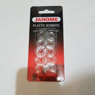 Plastic Bobbins For Janine Sewing Machines