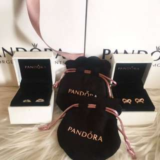 PANDORA EARRINGS FOR SALE BRANDNEW