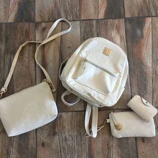 White Bag Set
