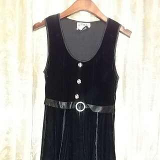 古着……Black Vintage絲絨裙