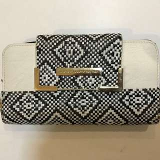 Colette By Colette Hayman Black And White Wallet